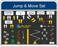Fuel Up To Play 60 Jump and Move Set