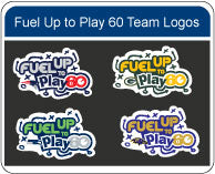 Fuel up to Play 60 NFL Logo Stencil Kit
