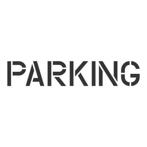 PARKING School Safety Stencil
