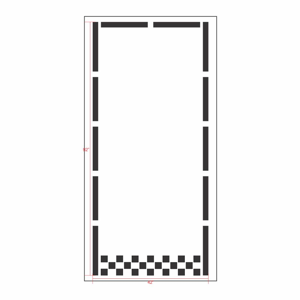 playground scholl home driveway game play kit stencils