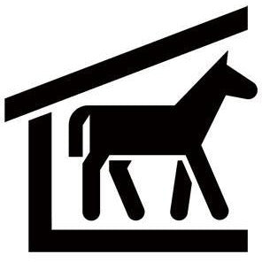Horse Stable Recreational Guide Symbols