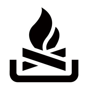 Camp Fire Recreational Guide Symbols
