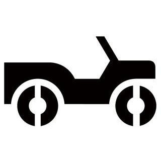 4-Wheel Drive Road Recreational Guide Symbols