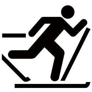 Cross Country Skiing Recreational Guide Symbols