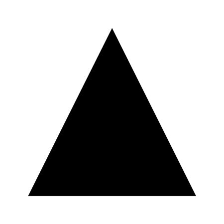 Triangle Shape Stencil