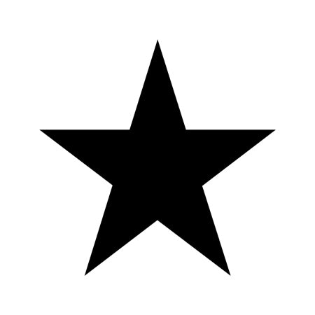 Star Shape Stencil