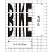 BIKE MUTCD Standard Pavement Stencils
