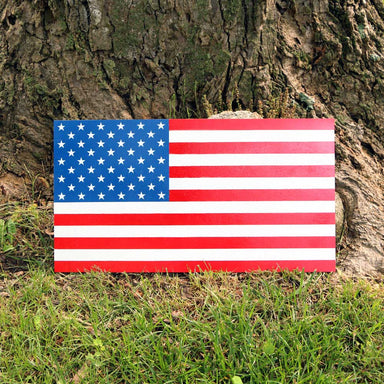 American Flag stencil stars and stripes USA