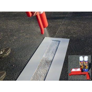 Parking Lot Line Touch-up Stencil Kit