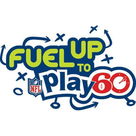 Fuel Up to Play 60 NFL Logo Stencil