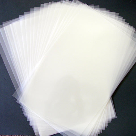 Adhesive Backed Blank Mylar Stencil Sheets