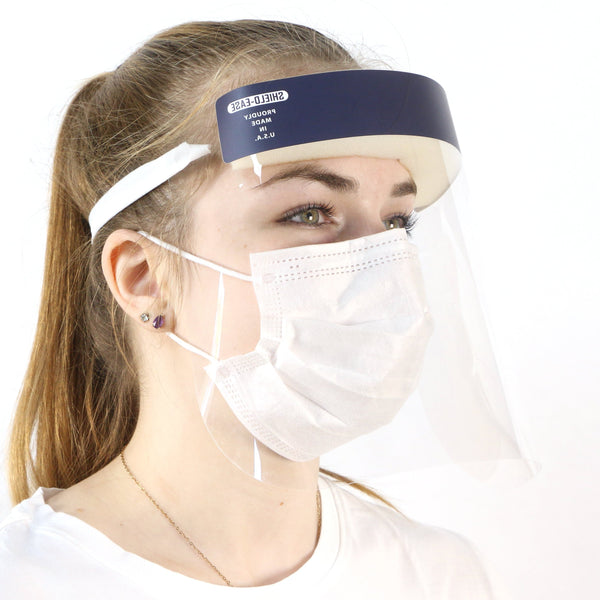 Face Shield with Mask