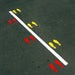 Slalom Jump Stencil for Playground or Home