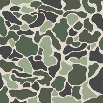 Camo stencils floor stencils brown camouflage stencils for Camo paint template