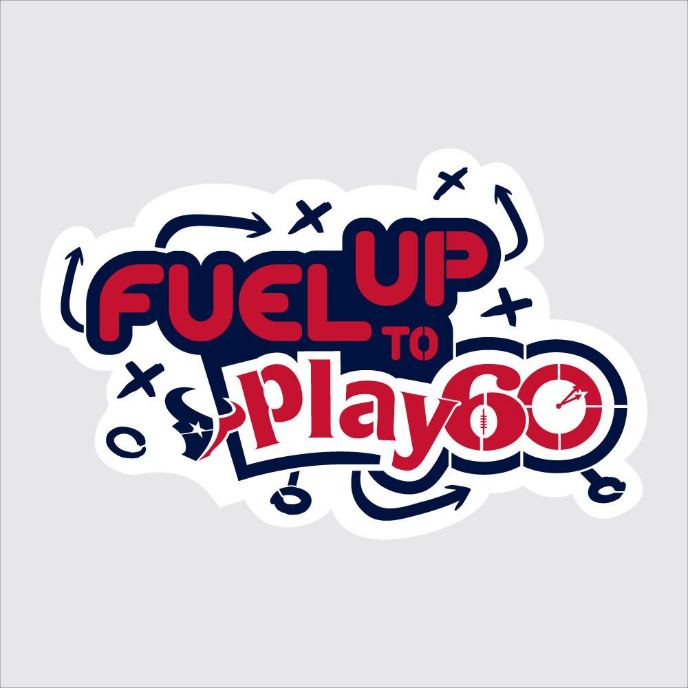 Texans Fuel Up to Play 60 NFL Teams Stencil