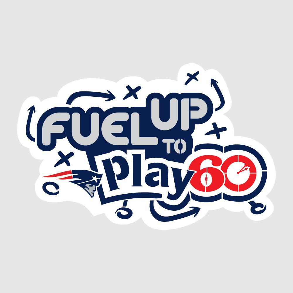 Patriots Fuel Up to Play 60 NFL Logo Stencil