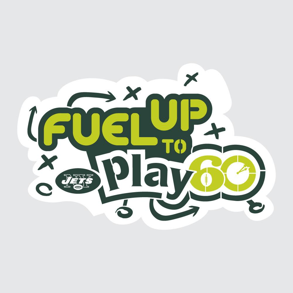 Jets Fuel Up to Play 60 NFL Teams Stencil