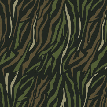 Camo stencils floor stencils tiger camouflage stencils for Camo paint template