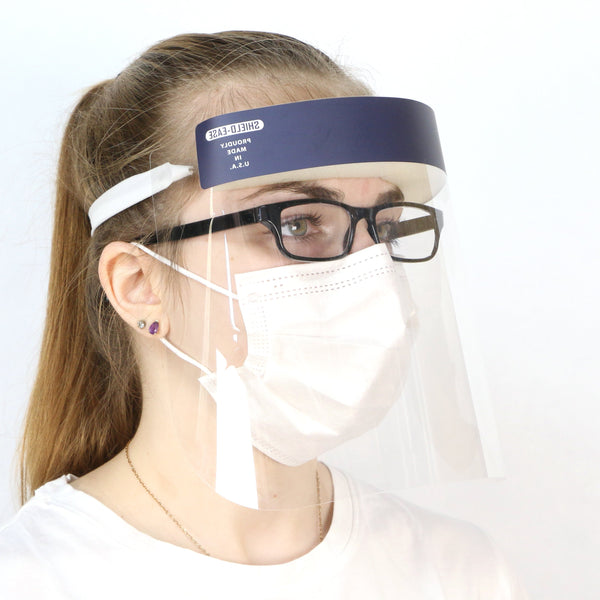 Face Shield with Mask and glasses