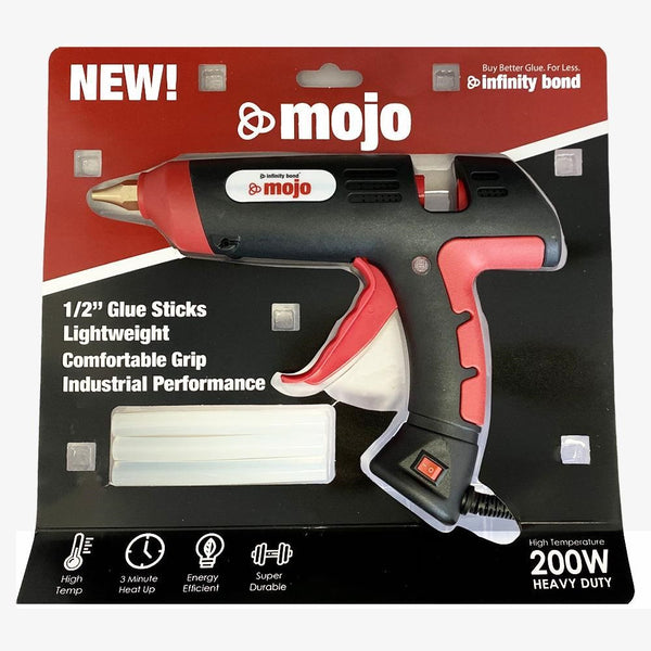 Infinity Bond Mojo - Powerful, Light Weight Hot Melt Glue Gun