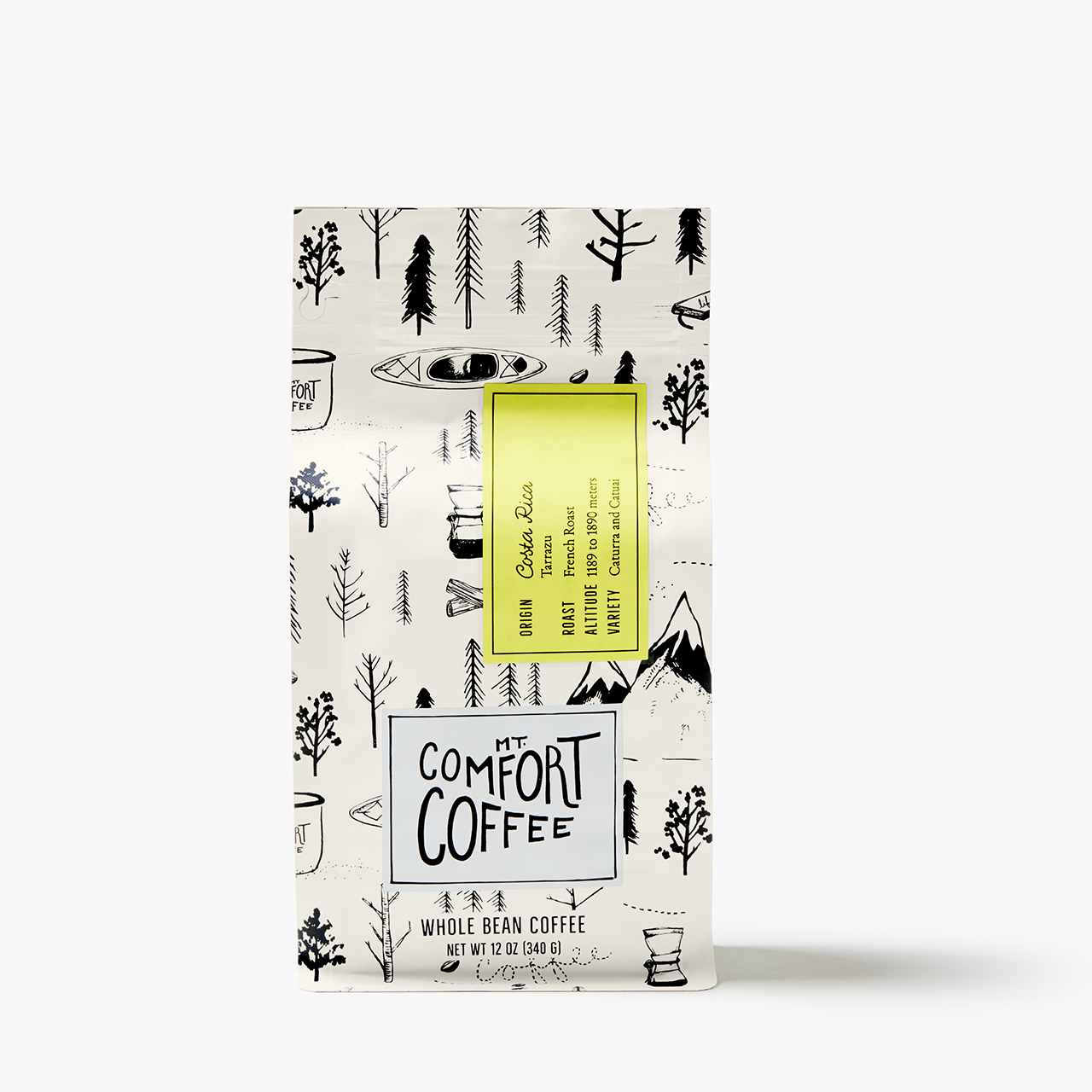 Costa Rica, French Roast, 12oz.