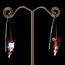Cocktail Multi Crystal Earrings