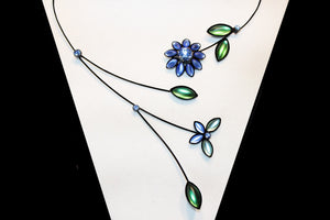 Butterfly & Daisy Necklace