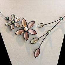 Double Flower Necklaces
