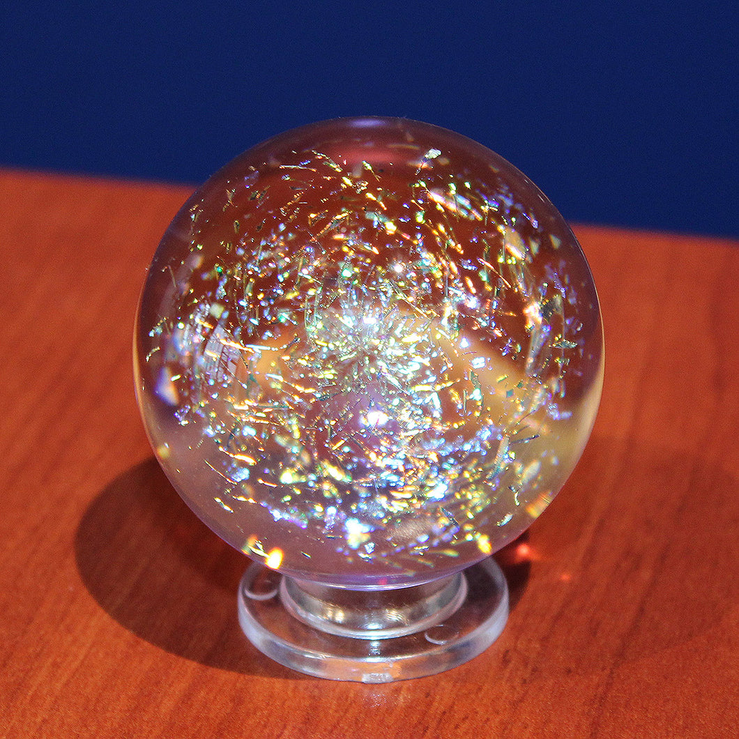 Galaxy Gold Orb