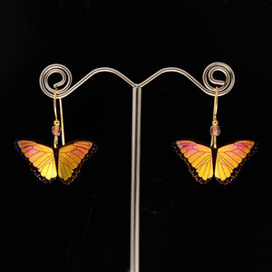 Butterfly Niobium Earrings