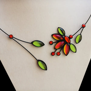 Mimosa Flower Necklaces