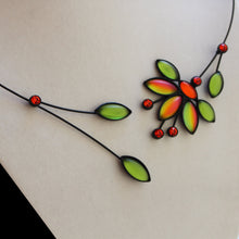Mimosa Flower Necklace