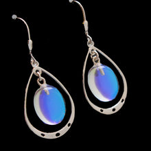 Oval Loop Earrings