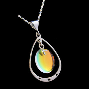 Oval Loop Pendants