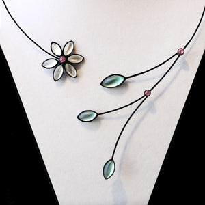 Small Flower Necklaces