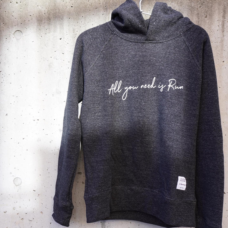 All you need is Run Hoodie by JAMMIN (Black)