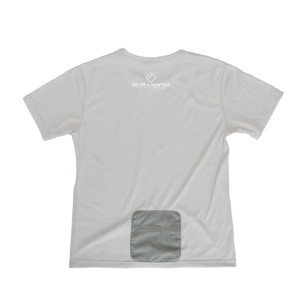 MMA GOAR Packable Sports Tee  (Gray)