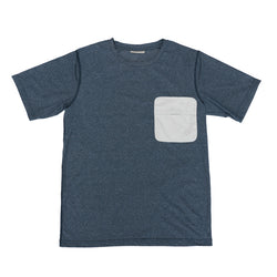 MMA GOAR Packable Pocket Tee (Navy)