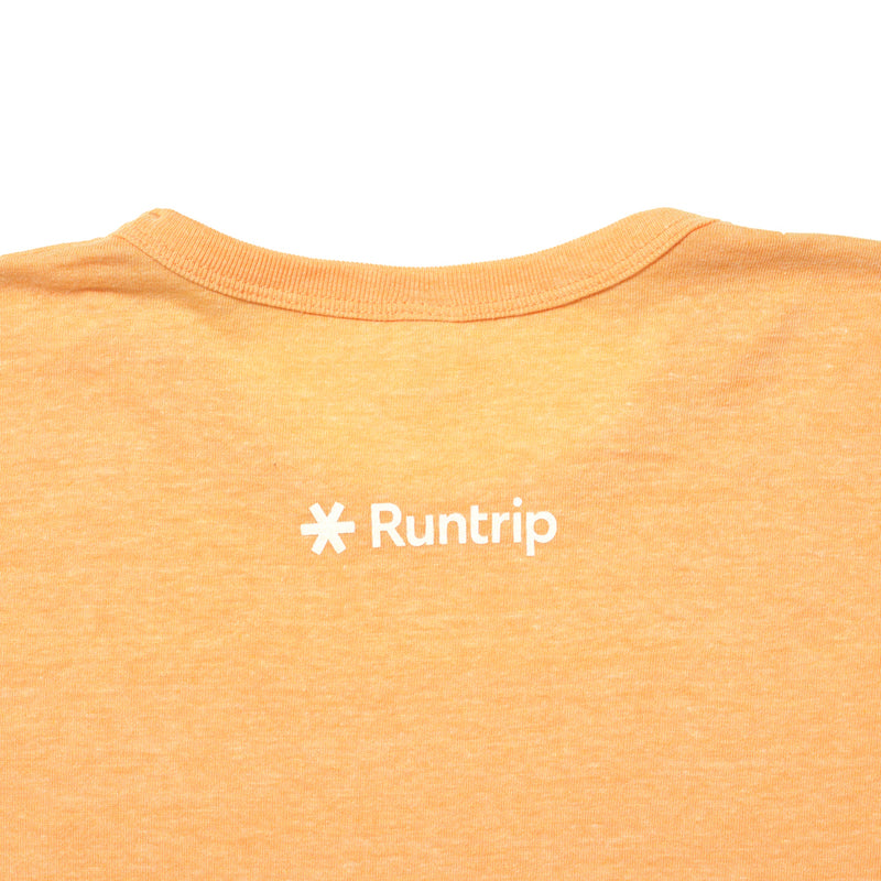 Run & Beer Tee(Yellow)