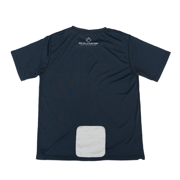 MMA GOAR Packable Sports Tee (Navy)