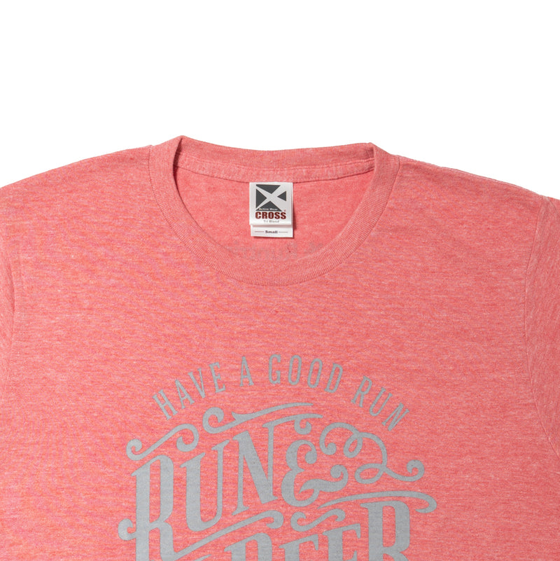 Run & Beer Tee(Mix Red)