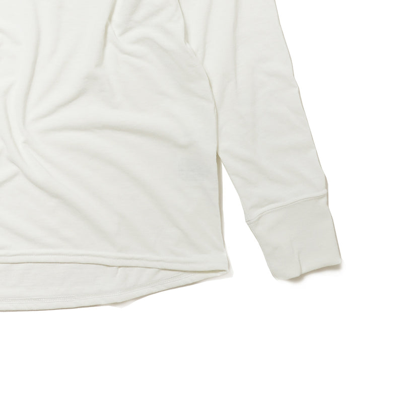 EAT DRINK SLEEP RUN / STREET Long-Sleeve Tee (White)