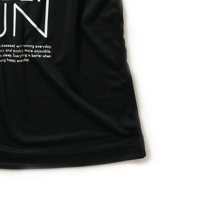 DRY|DRINK SLEEP RUN / Sunrise Tee (Black)