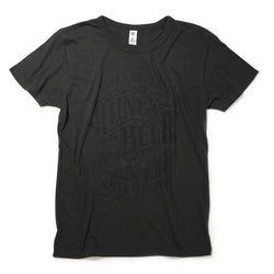 Run & Beer Tee(All Black)