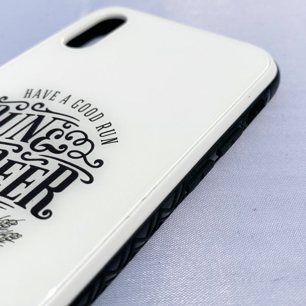 RUN & BEER iPhone X/XS(兼用) Case