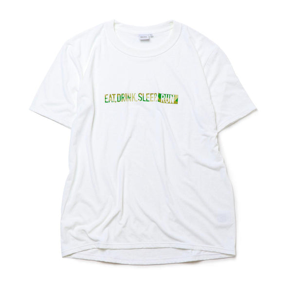 "EAT DRINK SLEEP RUN / STREET Tee Limited ""Camouflage"" Edition 2021 (White)"