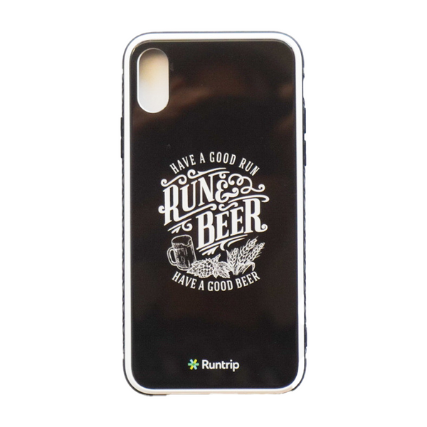 RUN & BEER iPhone X/XS(兼用) Case(Black)