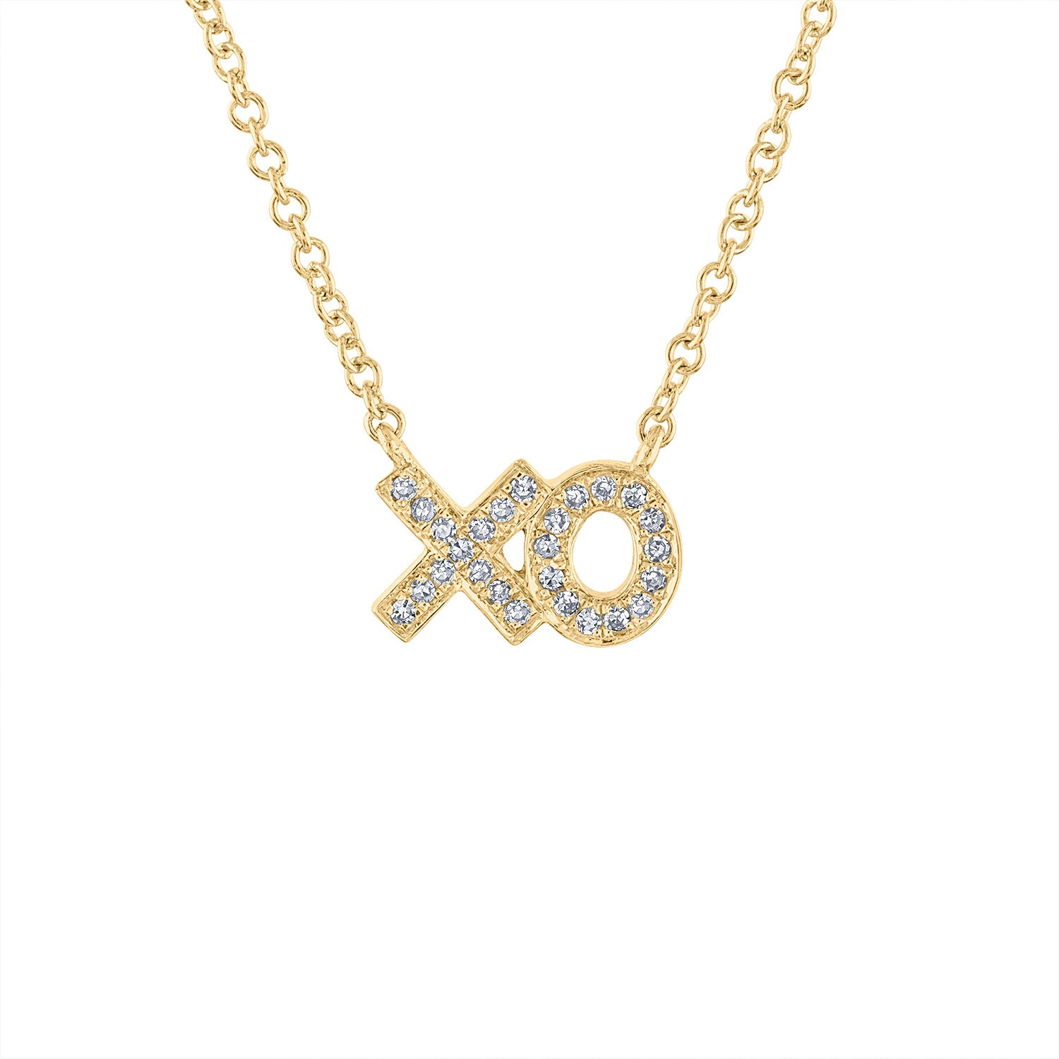 14KT GOLD DIAMOND MINI