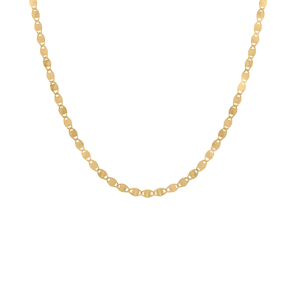 "14KT GOLD ""VALENTINO"" CHAIN NECKLACE"