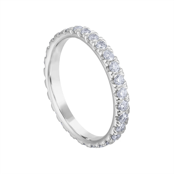 14KT GOLD DIAMOND ETERNITY BAND